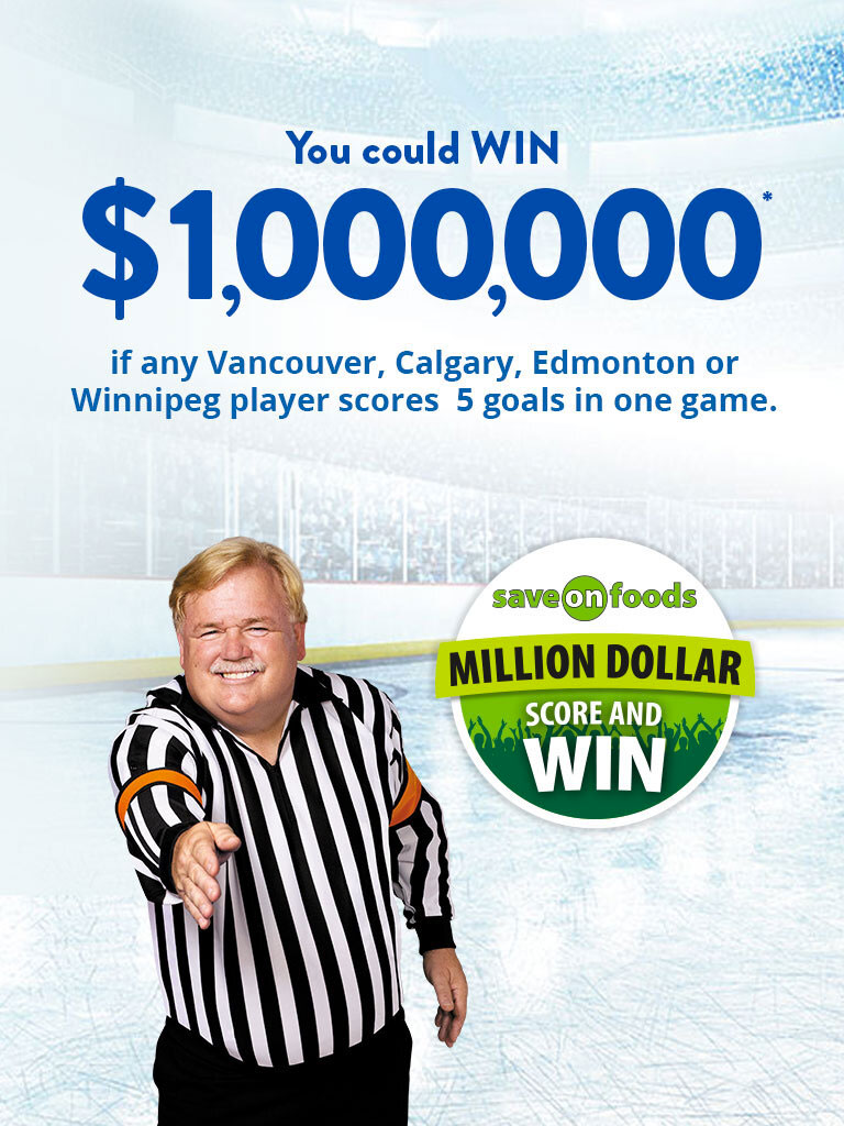 You Could Win $1,000,000*