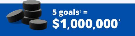 5 goals banner
