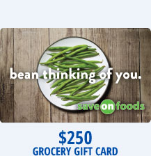 $250 Grocery Gift Card