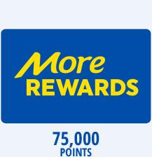 75,000 Reward Points
