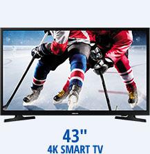 """43"""" 4K Smart TV"""